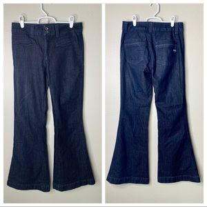 Habitual Dark Denim Wide Flare Jeans 28